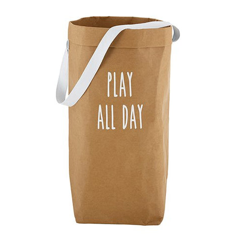 Play All Day - Washable Tote Storage