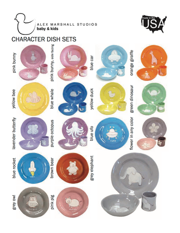 3 piece Children's Character Set