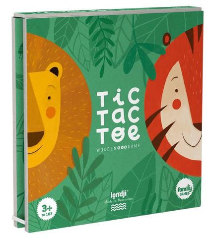 Lion and Tiger - Tic Tac Toe