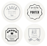Letterpressed Coasters Box Set