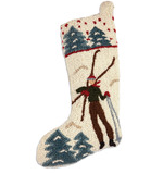 Stocking - Hand Hooked