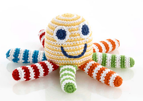 Handmade Cotton Rattle