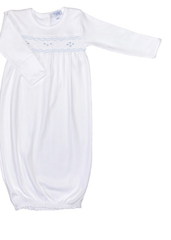 Nella Smocked Baby Gown