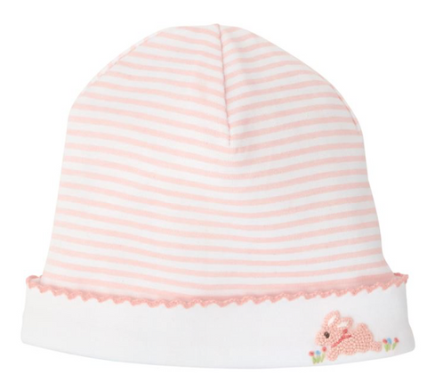 French Knot Baby Cap