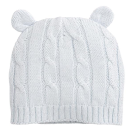 Baby Cable Hat with Ears