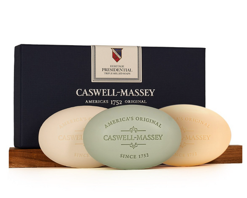 Heritage Presidential Three-Soap Set by Caswell-Massey