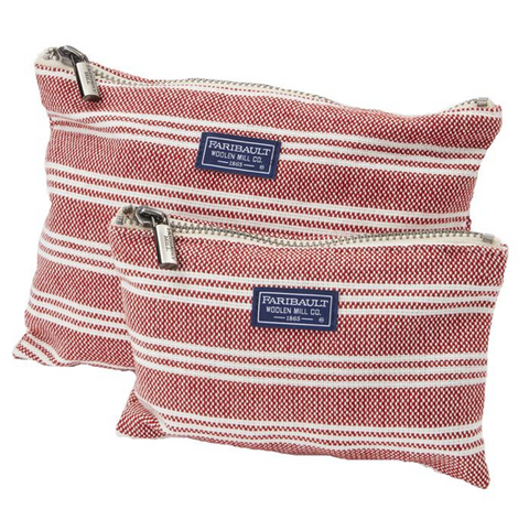 Faribault Beacon Stripe Small Zip Pouch