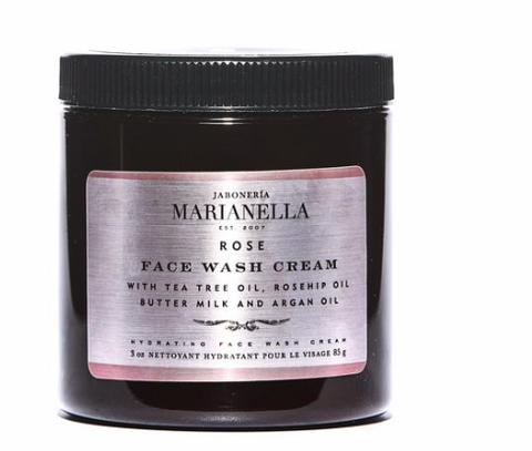 Jaboneria Marianella Rose Face Wash Cream