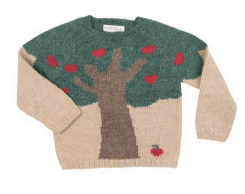 Apple Tree Sweater