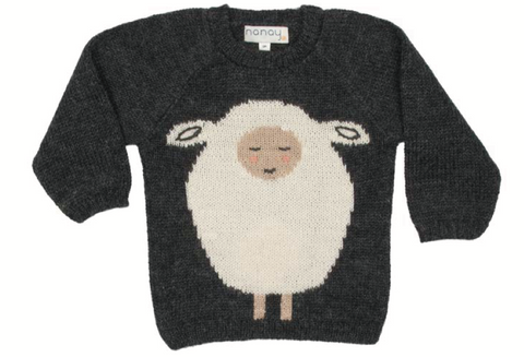 Sheep Sweater - Charcoal