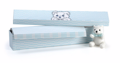 Blue Baby Scented Drawer Liners