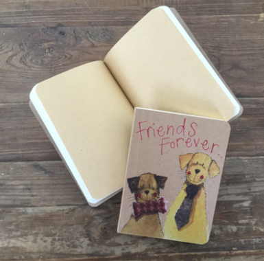 Friends Forever Kraft Notebook