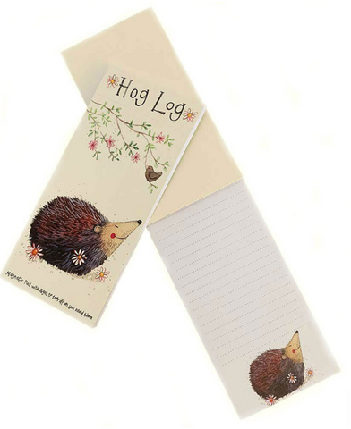 Hog Log Magnetic List Pad