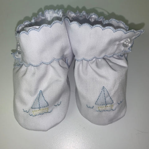 Baby Shoes - Embroidered