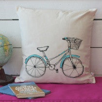 Printed Bicycle Cushion