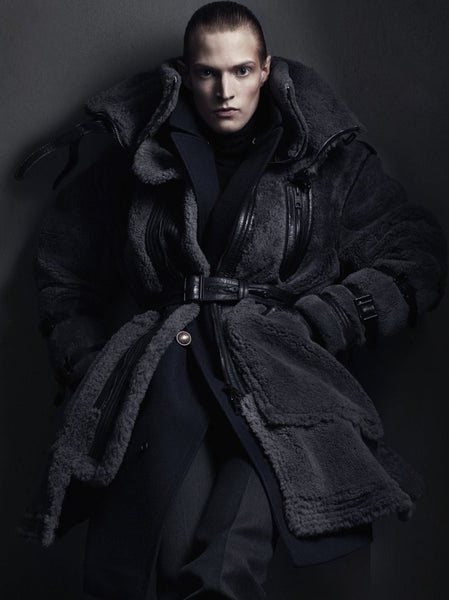 Burberry Prorsum sheepskin coat