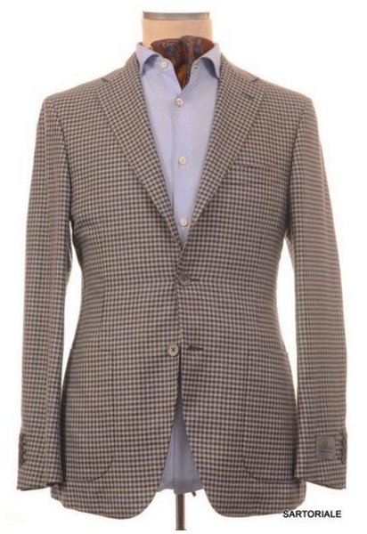 Gingham jacket for men by Belvest
