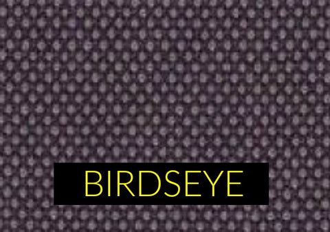 Birdseye fabric pattern in menswear