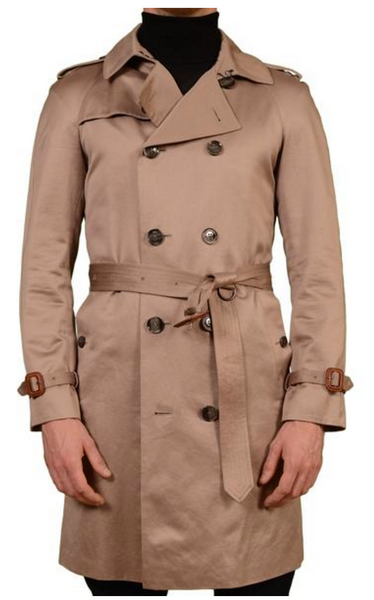 Beige trenchcoat by Burberry in Garbardine fabric
