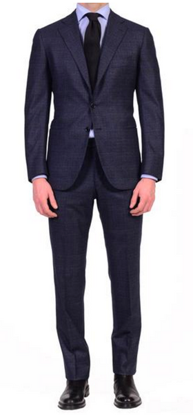 Handmade flannel business suit by Cesare Attolini