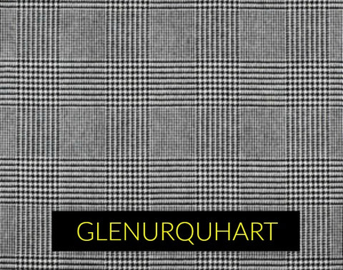 GLENURQUHART CHECK fabric pattern in men's sporting blazers