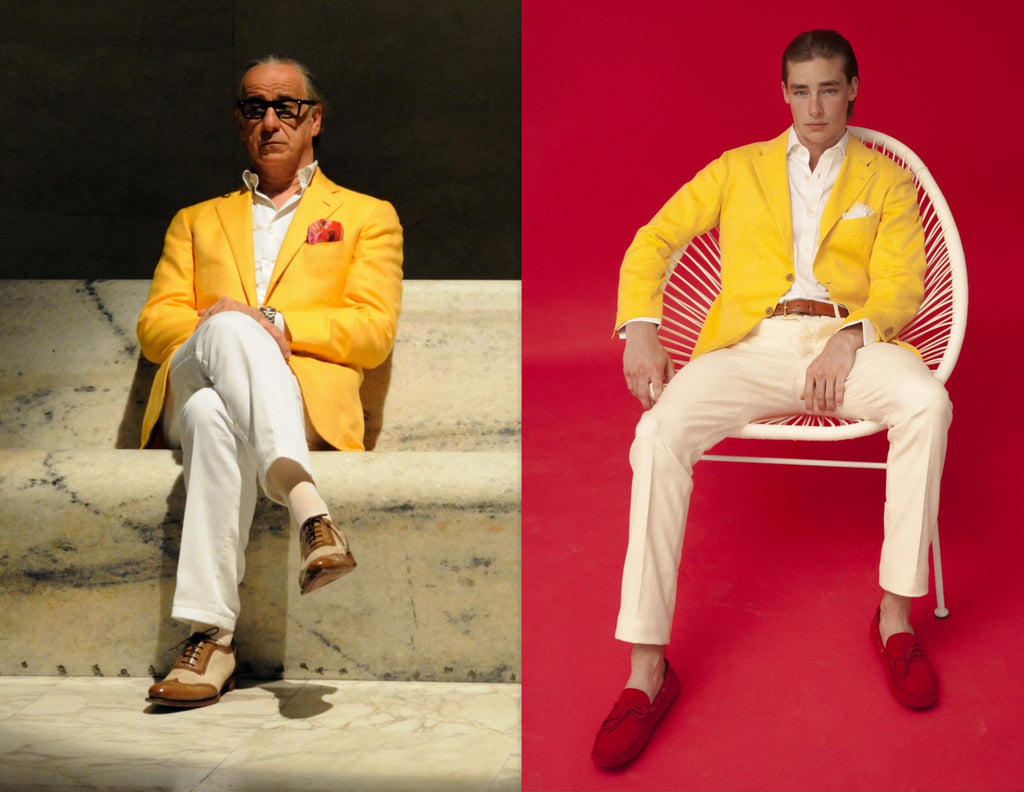 GRANDE BELLEZZA SARTORIALE LOOK YELLOW