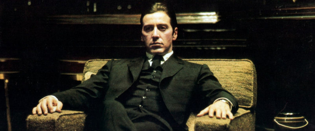 Michael Corleone's black suit in The Godfather