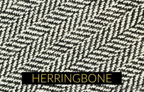 Herringbone fabric pattern