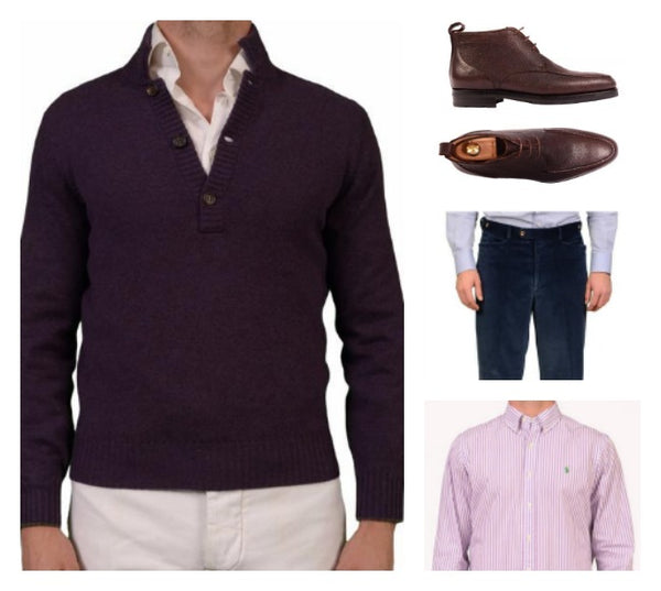 Menswear designer outfit for Xmas 2016