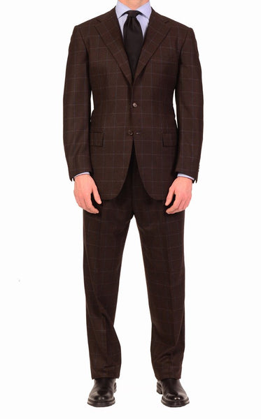 Kiton Windowpane Suit