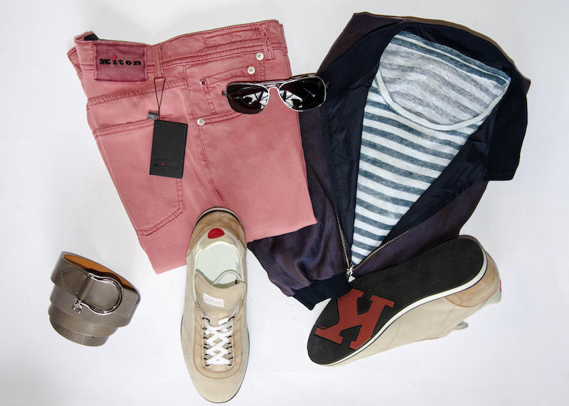More summer ideas from Kiton