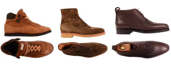 Kiton men's boots and shoes for winter