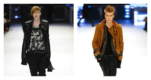 Dior Homme leather biker jackets for men