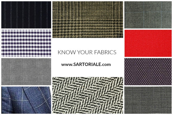 Know your fabrics in menswear what's the difference between Prince of Wales check and Glenplaid