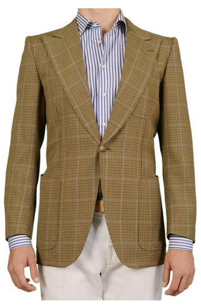 Houndstooth jacket by Mariano Rubinacci