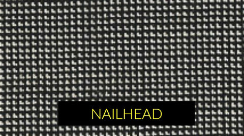 Nailhead fabric pattern