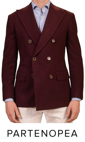 sartoria partenopea double breasted blazer