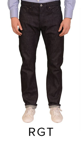 ROGUE TERRITORY RAW DENIM JEANS