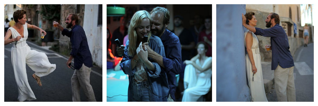 A Bigger Splash casual clothes Ralph Fiennes
