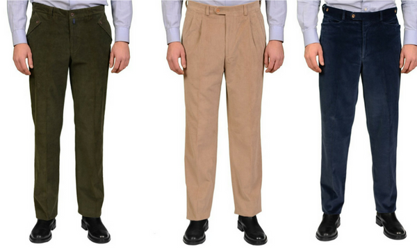 Rubinacci corduroy pants and slacks