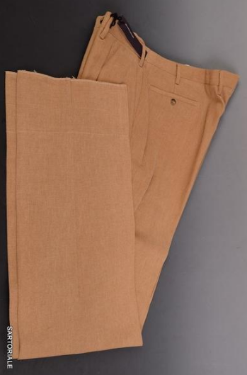 Rubinacci beige dress pants