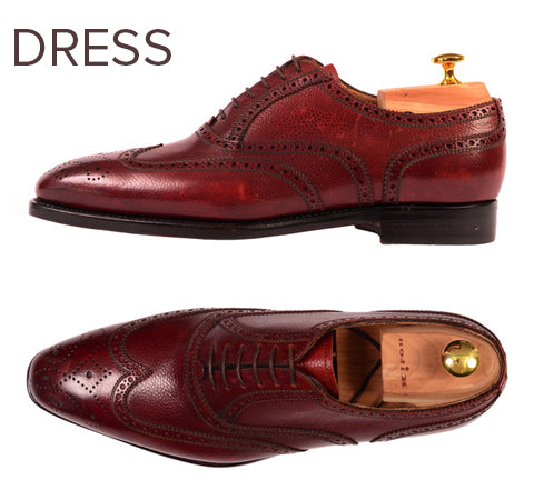 Luxury dress shoes from Kiton