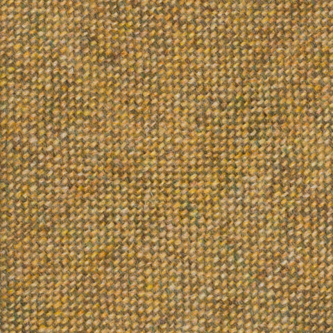 ANDERSON & SHEPPARD Khaki Wool Donegal Tweed Classic Tie
