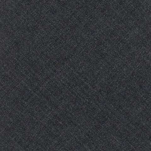 BRUNELLO CUCINELLI Solid Dark Gray Wool Super 120's Narrow Classic Tie NEW
