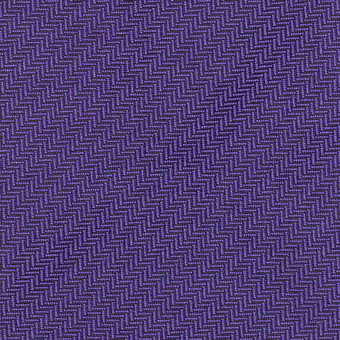 CHARVET Vendome Purple Herringbone Silk Classic Tie NEW
