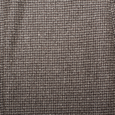 BELVEST Handmade in Italy Gray-Brown Wool-Silk-Linen Tweed Suit  EU 46 NEW US 36