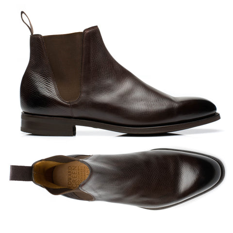 "EDWARD GREEN ""Camden"" Last 82 Brown Delapre Chelsea Boots UK 8 NEW US 8.5"