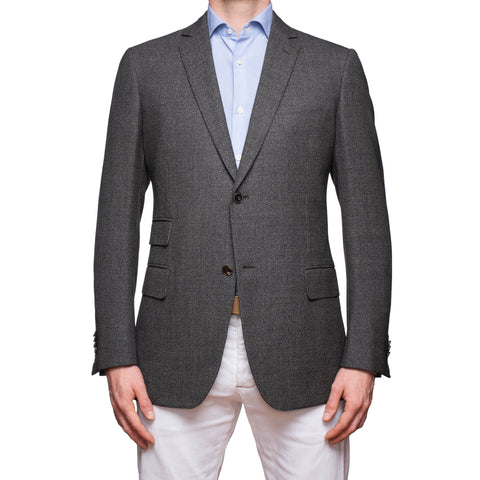 SARTORIA CASTANGIA Gray Wool Sport Coat Jacket EU 52 NEW US 42