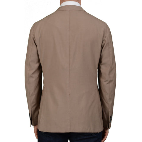 "BOGLIOLI Milano ""K. Jacket"" Taupe Wool Unlined Blazer Jacket Sports Coat NEW"