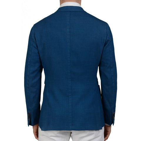 "BOGLIOLI Milano ""K. Jacket"" Blue Wool Unlined Jacket Sports Coat EU 54 NEW US 44"
